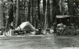 C. C. Hoover family camping at Union Creek