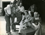 Waiting for rehearsal, 1948