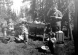 Unidentified campers on National Forest